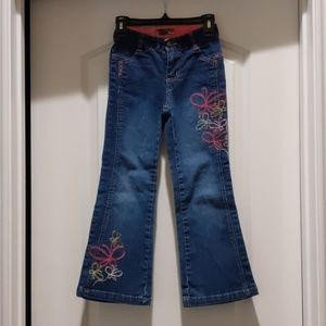 Girls French Toast bell bottom flare jeans